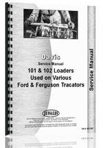 Service Manual for Davis 101 Loader Attachment