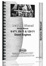"""""""Service Manual for Detroit 6V-71, 8V-71, 12V-71 Engine"""""""