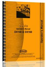 Operators Manual for Deutz (Allis) DX140 Tractor