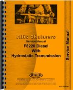 Service Manual for Deutz (Allis) 5220 Tractor