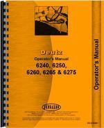 Operators Manual for Deutz (Allis) 6240 Tractor