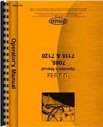 Operators Manual for Deutz (Allis) 7085 Tractor