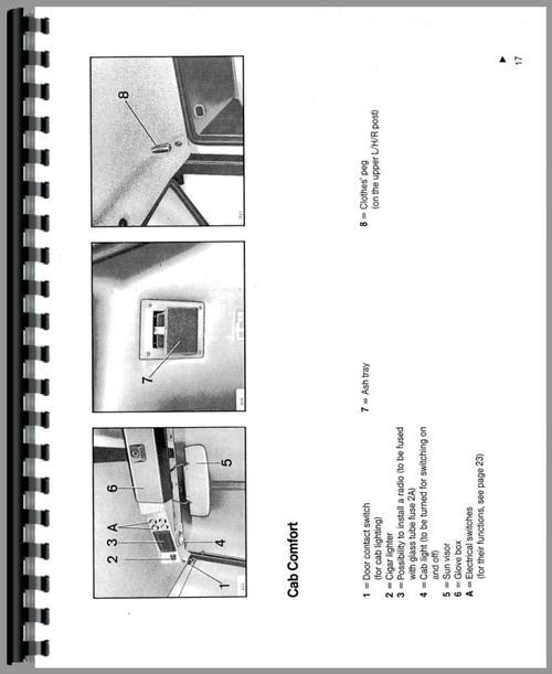Deutz  Allis  7110 Tractor Operators Manual