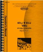 Operators Manual for Deutz (Allis) 7120 Tractor