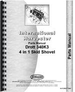 """Parts Manual for Drott T340 Loader Attachment for IH T-340, TD-340 Crawler"""