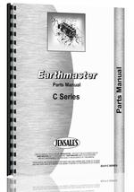 Parts Manual for Earthmaster C Tractor