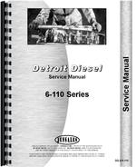 Service Manual for Euclid 25 TDT Tractor Detroit Diesel Engine