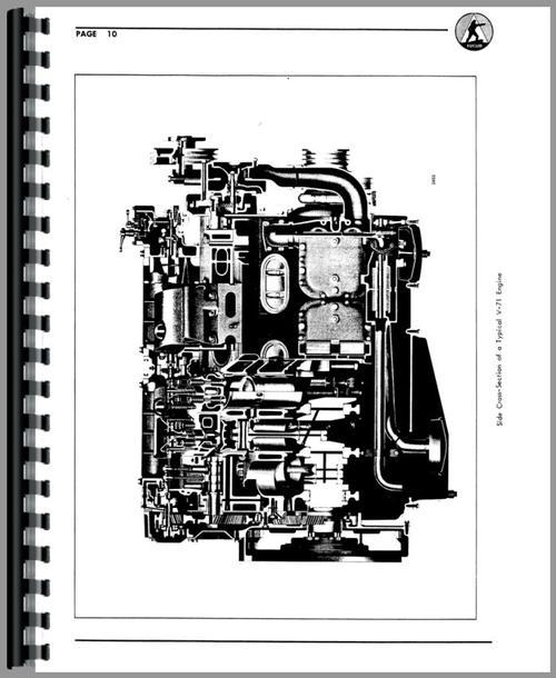 Euclid 39 LOT Tractor & Scraper Detroit Diesel Engine Service Manual