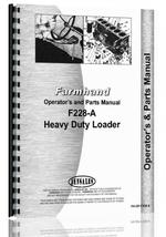 Operators & Parts Manual for Farmhand F228-A Loader Attachment