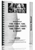 """Service Manual for Hesston 1180, 1380, 1580, 1880 Tractor"""