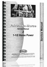 Service Manual for Fairbanks Morse Type Z Hit & Miss Engine