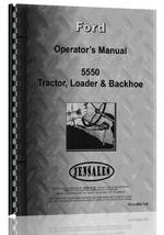 Operators Manual for Ford 5550 Industrial Tractor