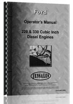 Operators Manual for Ford 330 Engine