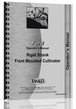 Operators Manual for Ford All Cultivator