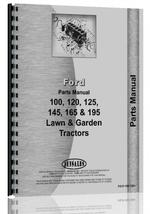 Parts Manual for Ford 165 Lawn & Garden Tractor