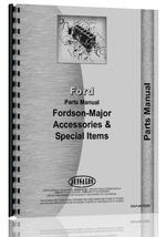 Parts Manual for Ford 600 Accessories