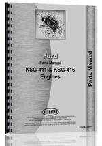 Parts Manual for Ford KSG-411 Engine