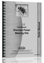 Parts Manual for Ford All Sherman Power Steering Kits
