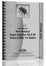 Parts Manual for New Holland Super 68 Baler