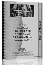 Service Manual for Ford 1700 Tractor