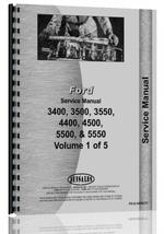 Service Manual for Ford 5550 Industrial Tractor