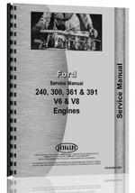 Service Manual for Ford 391 Engine