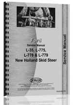 Service Manual for New Holland L35 Skid Steer