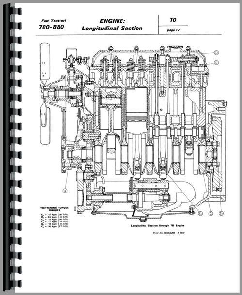 fiat 780 tractor service manual rh themanualstore com Fiat Tractors USA Fiat Tractor 1 32
