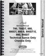 Service Manual for Fiat 880DT Tractor