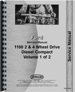 Service Manual for Ford 1100 Tractor