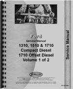 Service Manual for Ford 1310 Tractor