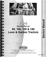 Service Manual for Ford 145 Lawn & Garden Tractor