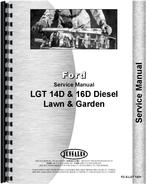 Service Manual for Ford 14D Lawn & Garden Tractor