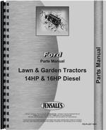 Parts Manual for Ford 14HP Lawn & Garden Tractor