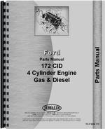 Parts Manual for Ford 172 Engine