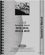 Operators Manual for Ford 2810 Tractor