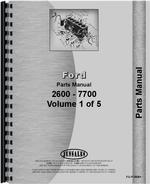 Parts Manual for Ford 333 Industrial Tractor