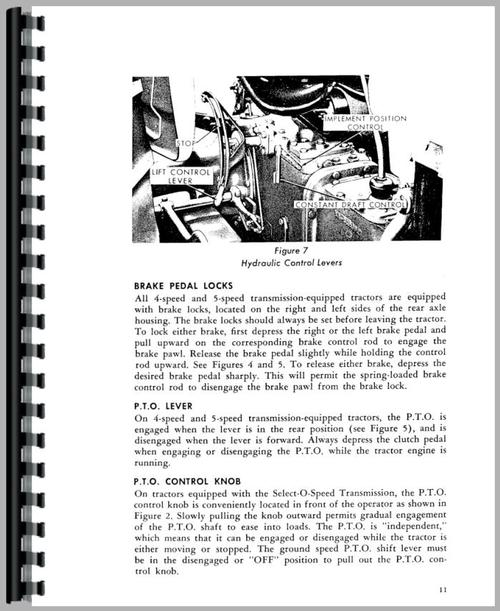 ford 4000 industrial tractor manual