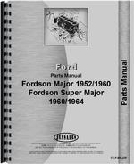 Parts Manual for Ford 4000 Major Tractor