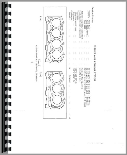 ford 4000 tractor data service manual rh themanualstore com ford 4000 manual free download ford 4000 manual free