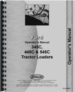 Operators Manual for Ford 445C Tractor Loader Backhoe