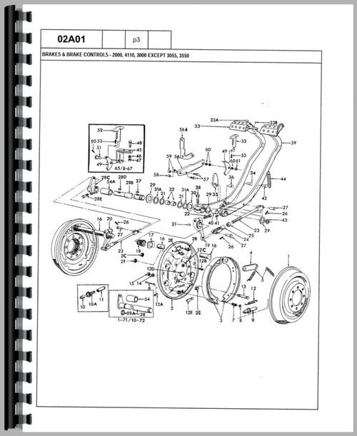 ford 4500 industrial tractor parts manual rh themanualstore com Ford 4500 Backhoe Operators Manual ford 4500 tractor manual pdf
