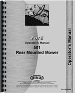 Operators Manual for Ford 501 Sickle Bar Mower