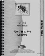 Parts Manual for Ford 5500 Industrial Loader Attachment