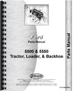 Parts Manual for Ford 5550 Industrial Tractor