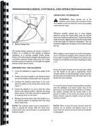 Operators Manual for Ford 655C Tractor Loader Backhoe