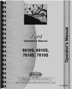 Operators Manual for Ford 7610S Tractor