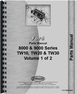 Parts Manual for Ford 8600 Tractor