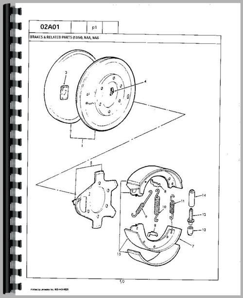 Ford 861 Wiring Diagram
