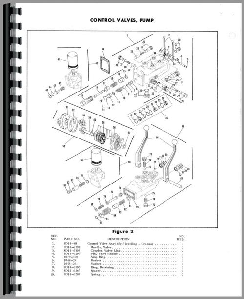 ford 9n davis a1 loader attachment parts manualparts manual for ford 9n davis a1 loader attachment sample page from manual